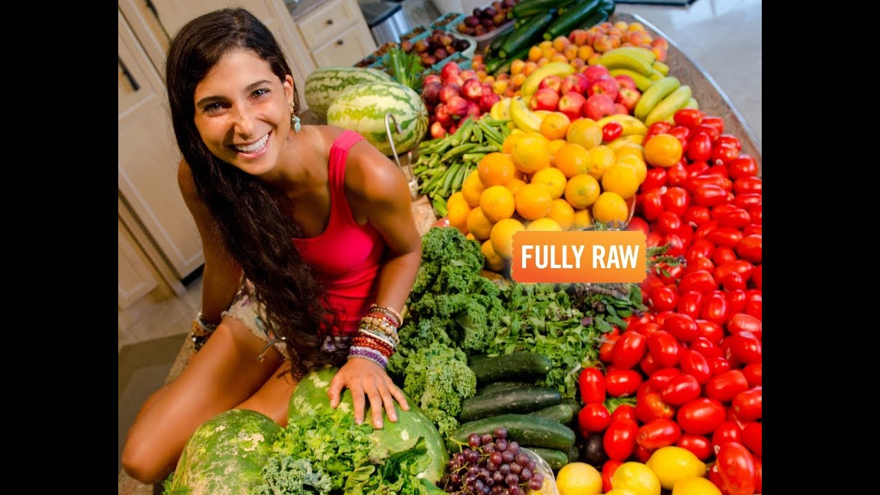 My Weekly Raw Food Stash! - YouTube