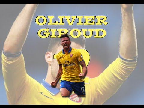 Olivier Giroud | All Goals & Skills (2013/14)