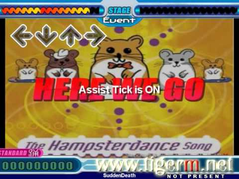 Hampster Dance Song - Stepmania [tiger M Stepchart] video
