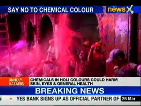 Say no to chemical colours this Holi