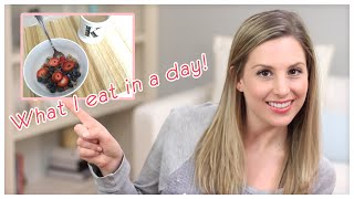 What I eat in a day! (3/4/15): Coconut Dark Chocolate!