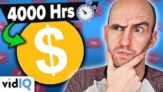 4000 Hours Watchtime & YouTube Monetization: EXPLAINED!