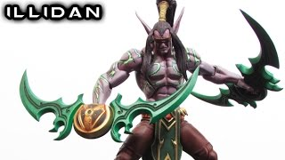 NECA ILLIDAN Heroes of the Storm Figure Review