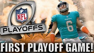 FIRST PLAYOFF GAME! WE WON MVP! Madden 20 Face Of the Franchise