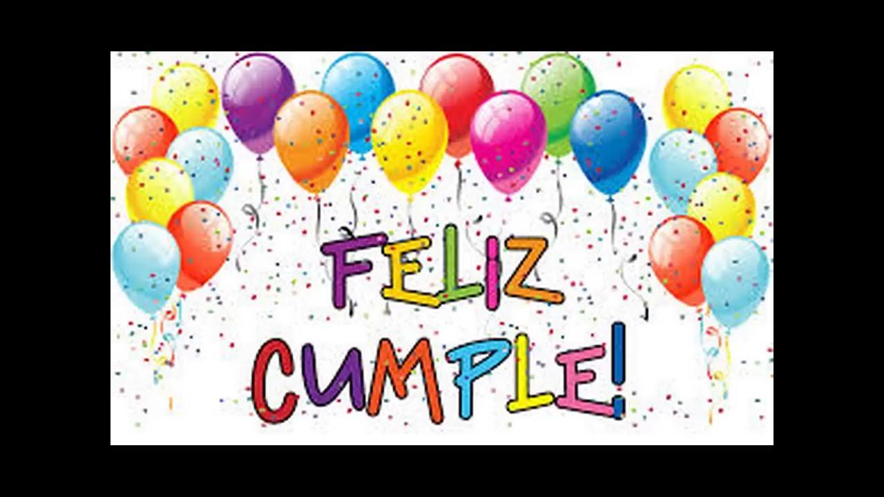 Испанский язык поздравление с днем рождения 4