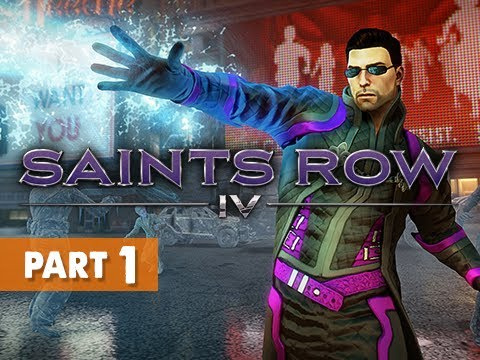 Saints Row 4 Gameplay Walkthrough Part 1 – Zero Saints Thirty