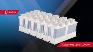 The e-Series Modular Chiller Range from Mitsubishi Electric