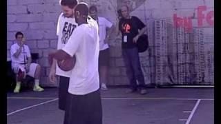 Kobe Bryant, Pau Gasol, Navarro, Ricky Rubio, Raval Barcelona - In slow motion