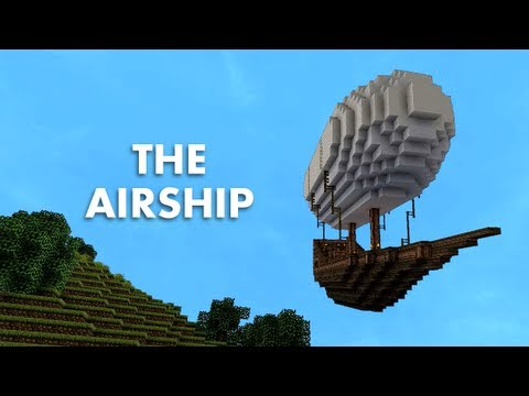 The Airship (A Minecraft Machinima)