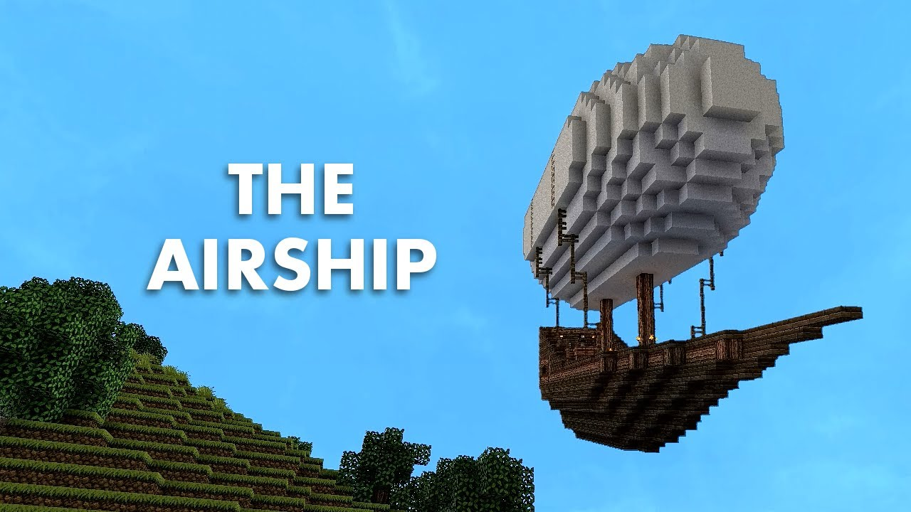Fantastic Flying Machine   Minecraft