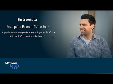 Entrevista Joaquín Bonet - Microsoft Corporation - CampusMVP
