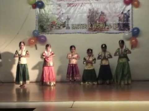 Mmc Easter vishu-2013-keranirakaladum (kids Dance) video