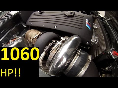 BMW E30 TURBO 1000 HP!!