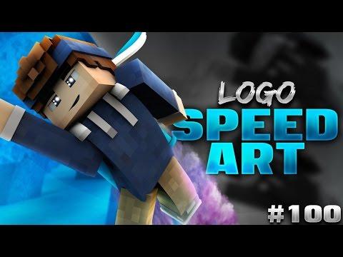 LOGO - Minecraft Banner Speedart [#100] [BEST]   AtmoArtworks