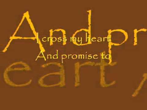 Scotty McCreery- I Cross My Heart Lyrics