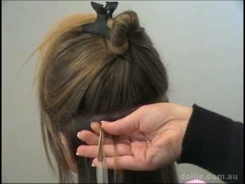 How To Apply Micro Ring Loop Human Hair Extensions