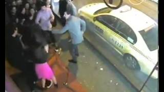 Bouncer Hits Girl
