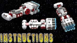 INSTRUCTIONS: Star Wars CR90 Corellian Corvette (Micro)