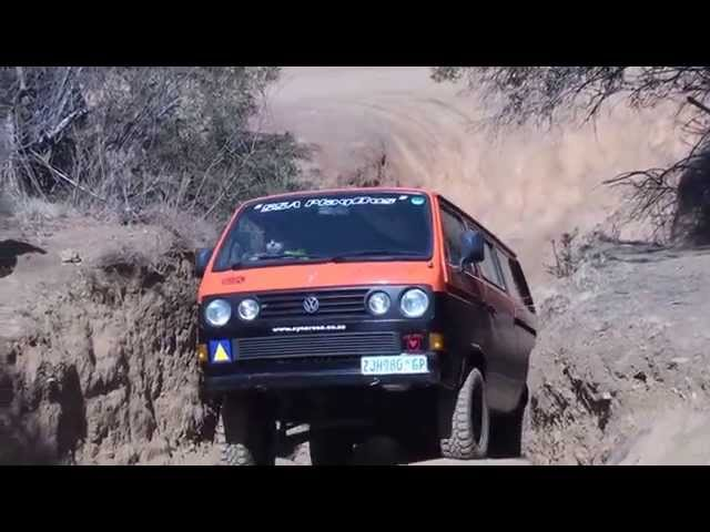 Volkswagen T3 Syncro on Syncro day at Hennops off-road trail