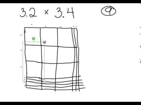 area model multiplying decimals youtube. Black Bedroom Furniture Sets. Home Design Ideas