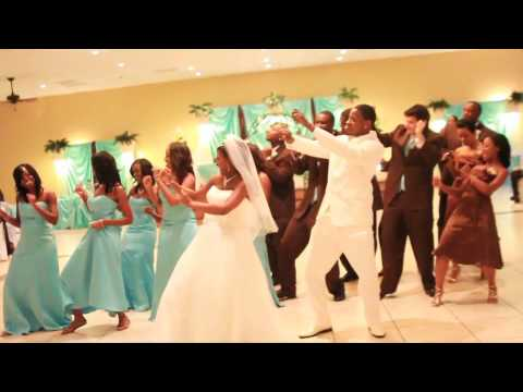 Wedding wobble video