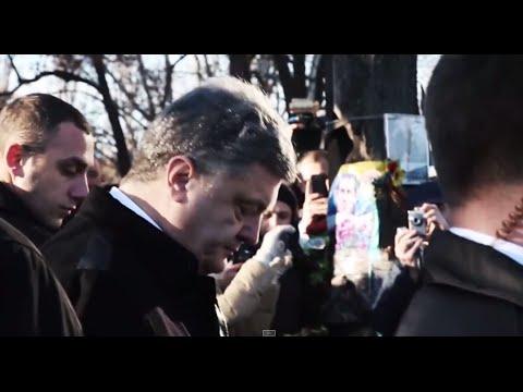 Heckling President Poroshenko and a Visit from Joe Biden