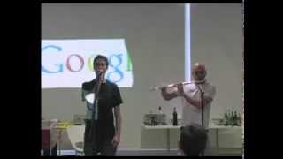 BitBox Nathan Flutebox Lee and Beardyman Google London Продолжение