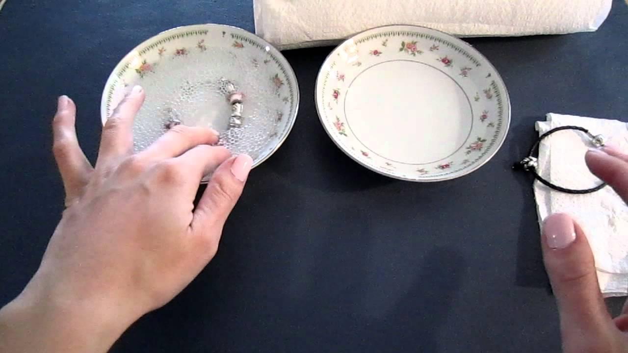 Как почистить браслет в домашних условиях 207