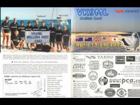 1999-2000 ham radio BV2DP 50MHz 6m DX QSO Audio and QSL Card