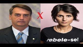 Jair Bolsonaro  x  Manuela d'Ávila   |  Presidenciáveis 2018