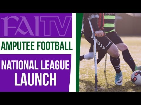 The inaugural Amputee Football National League launch