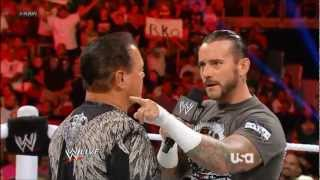 CM Punk Attacks Jerry Lawler On Raw