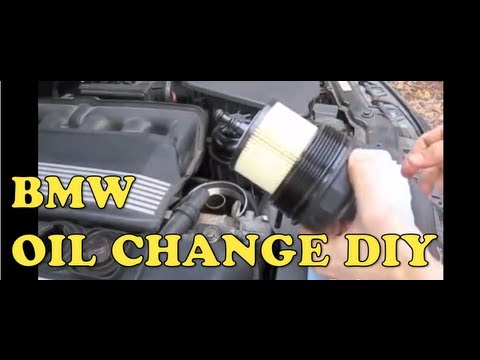 BMW Oil Change (E46) MillerTimeBMW - DIY 12