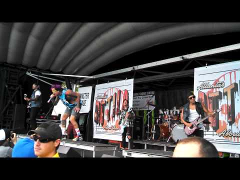 Attila Intro + Callout live Indianapolis, IN Warped Tour 2014