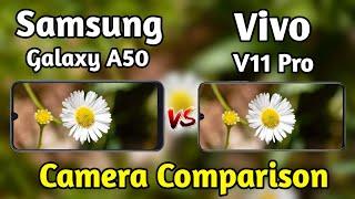Samsung Galaxy A50 VS Vivo V11 Pro Camera Test Comparison|Galaxy A50 Review|Vivo V11 Pro Overview|