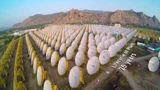 India One Solar Thermal Power Project - Glimpses - Brahma Kumaris