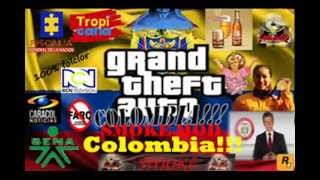 GTA COLOMBIA SMOKE MOD TRAILER #1