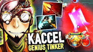 Kaccel Fast And The GENIUS Tinker - Crazy Dancing Moves Of Tinker GOD Dota 2