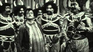 Vedhala Ulagam | Tamil Movie Comedy | T.R.Mahalingam | K.Sarangapani | Pandari Bai