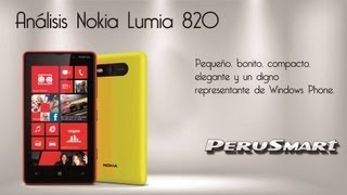 [Peru Smart] [Análisis] Nokia Lumia 820 - Review