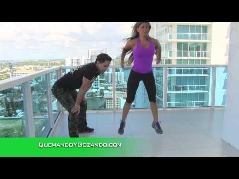 Eliminar la Celulitis Con Esta Rutina de 3 Minutos Con el Entrenador José Fernández Salvando Vidas