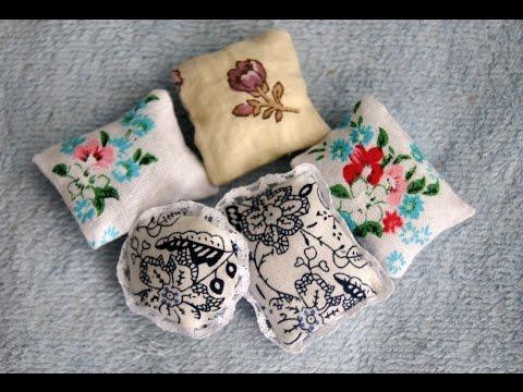 Как сделать подушку для куклы своими руками 892