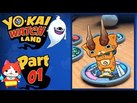 Yo-Kai Watch Land - Part 1   A FREE Mobile App Available NOW + Giveaway!