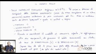 Mercato Reale e Mercato Monetario - Videocorso di Macroeconomia - Prof. A. E. Biondo - 29elode