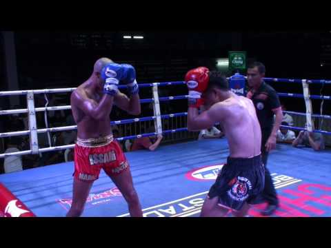 Suanoi (Tiger Muay Thai) vs Issam (Dragon Muay Thai) @ Chalong Boxing Stadium 19/1/16