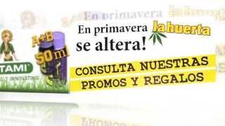 Promoción de productos en La Huerta Grow Shop