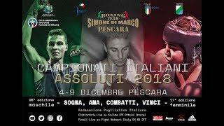 Campionati Italiani Assoluti 2018 - QUARTI UOMINI RING B