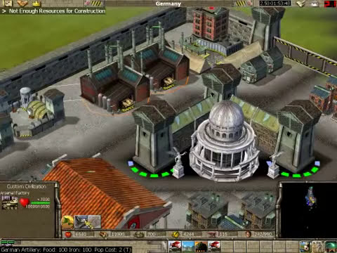 Empire Earth - Road to Reich [First Gameplay] By Henrique Dâmaso