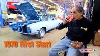 Dodge Coronet R/T 440 First Start - Big HP Dyno Pull