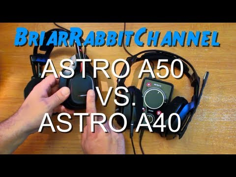 Astro A50 VS A40 + Mixamp Pro 2013 Comparison and Headset Review Gaming Headset